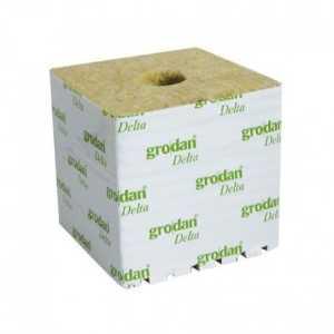 8 Cubes de laine de roche 7.5cm x 7.5cm x6.5cm – Grodan