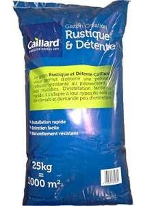 Caillard PFSE19776 Graines de Gazon Rustique et Détente 25 kg 1000 m²