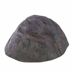 länglicher Décoration rochers Andreas, gris, 76x 68x 32cm, résistant aux intempéries