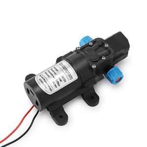Sunsbell DC 12V 60W 5L / min Micro Pompe ¨¤ membrane Pompe ¨¤ eau ¨¤ haute pression