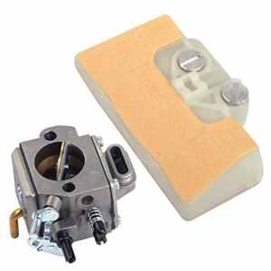 Carburateur Carb avec ligne de filtration pour Stihl MS290 MS310 MS390 029 039 290 310 390 Scie à chaîne