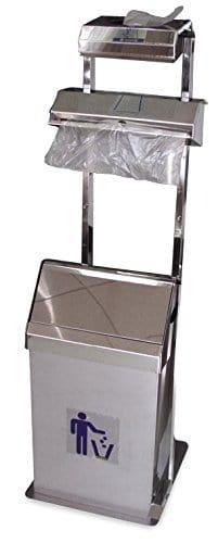 fricosmos 990140202Ensemble Distributeur de gants et sacs en rouleau avec poubelle