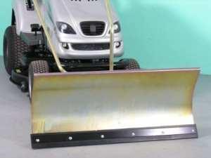 Husqvarna rB180 galvanisé confort de la lame chasse-neige 118 x 50 cm pour rasentraktore iD 2185
