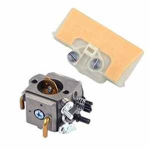 LETAOSK Carburateur avec filtre à air Ligne d'huile de carburant pour Stihl MS390 MS290 MS290 MS290 MS310 029 039 039 290 310 390 Scie à chaîne