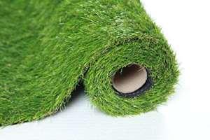 SUMC Gazon Artificielle Tapis Paillasson de Gazon Pelouse Herbe Extérieur Intérieur Faux Jardin Turf pour Chiens Hauteur de Pile de 30mm(1m*4m)