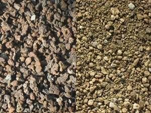 200 kg Substrat pour toiture végétale – sorte 1 – lave / ponce