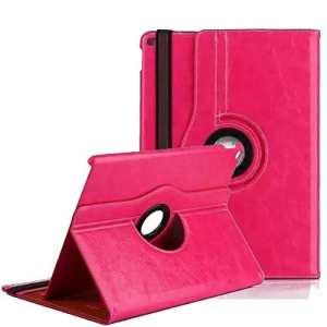 elecfan® Étui de protection pour iPad Mini 4 avec fonction support et aimant incorporé pour mise en veille/hors veille iPad Mini 1/2/3 Rosa