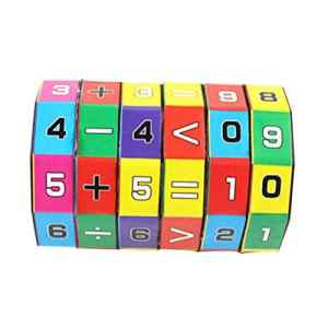 Happy Event New Children Kids Mathematics Numbers Magic Cube Magique Toy Puzzle Game Gift