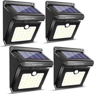 Luposwiten Lampe Solaire Extérieure 100 LED, Etanche Détecteur de ...
