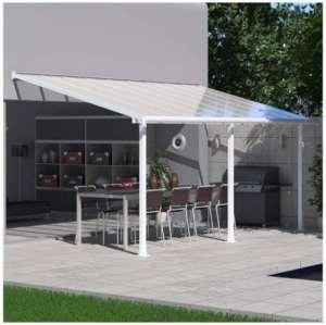Palram, gris, Patio Cover Olympia, 16mm terrasen 546X 295x 305cm