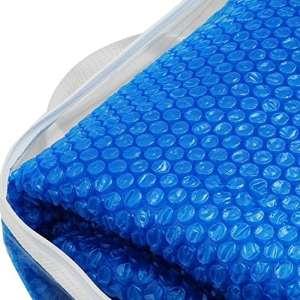 Jilong Solar Pool Cover – bâche solaire ronde avec ø 195 cm, couverture de piscine flottante, film solaire pour piscines avec diamètre extérieur 240-244 cm, bâche solaire, chauffage de piscine.