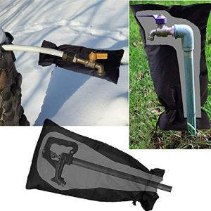 sunnymi Jardin d'hiver antigel Anti-Crack Robinet pour Robinet extérieur antigel Robinet Protection antigel 1PC Noir