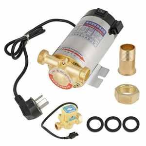 220V 100W Pompe à Eau Automatique en Acier Inoxydable pour le Tuyau d'Eau du Chauffe-eau Solaire