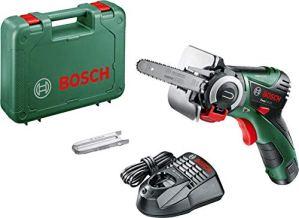 Bosch Scie sans-Fil Easycut 12 (Technologie Nanoblade, Batterie, Chargeur, Lame, Coffret, Système 12V, 2,5 Ah)