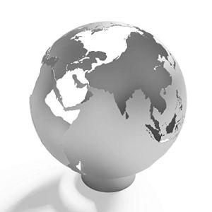 Earthbound Firepit (Propane), Black Ceramic, 37″