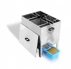 Lega Vapor 30 Cire à Vapeur en Acier Inoxydable pour 30 Cubes Dadant