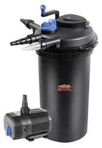 Mauk Filtre, XXL UVC Kit filtre haute pression pour mare, noir, 48x 39,5x 73cm, 1905