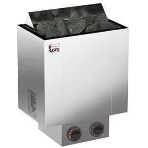 Sauna Poêle Électrique SAWO NORDEX 2017, Gamme de puissance: 4,5 kW; 6,0 kW; 8,0 kW; 9,0 kW; avec unité de contrôle intégrée (NB modèle); Multi-Tension: soit monophasé ou triphasé;