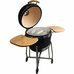 Syntrox Germany Kamado 1 Chariot-barbecue au charbon de bois/fumoir