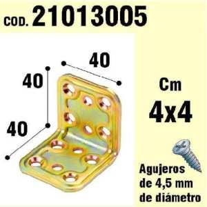 WOLFPACK 21013005 Support pour Angle Bois 40 x 40 x 40