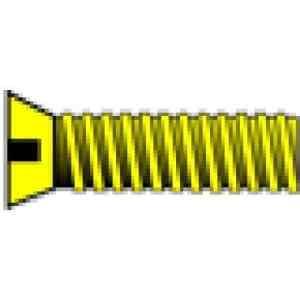 2-56 1/4″ Flat Head Machine Screw (5) by Woodland Scenics