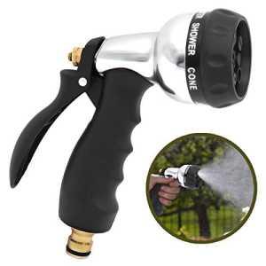 Pistolet d'arrosage, Aodoor Pulvérisateur de Jardin, 7 modes d'arrosage Raccordement laiton, pour les Véhicules, Pulvérisateur pour Lavage de Voiture, le Jardinage