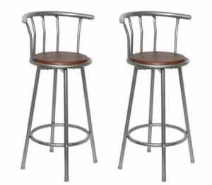 Tabouret-Chaise cuisine bars pubs ligne bois et 2 métal