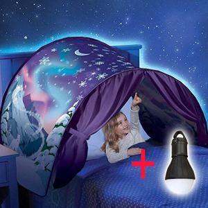 XPartner Les enfants surgissent de la tente de rêve