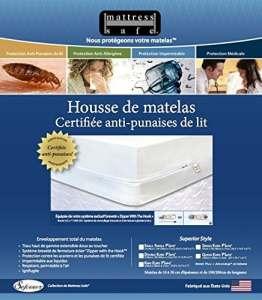 Anti punaise de lit housse de matelas Mattress Safe 160 x 190 x 17