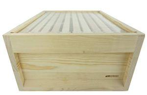 APIFORMES Film de Protection Premium pour Segeberger – 435×435 – Transparent avec Perforation d'aiguilles – PEBD – Qualité Alimentaire – Imkerei – Produit de Noeud de sciage