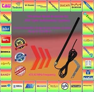 compatible avec V2, CASIT, celinsa, ELKA, d'autres systèmes Antenne externe 433.92Mhz