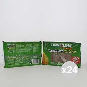 Diavolina allume Grille–500gr [28accensioni naturelles]