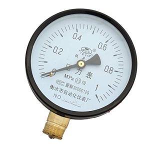 Fenteer Jauge de Pression d'eau Piscine Compresseur d'air Compteur Filtre – 0-1.0 MPA