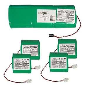 First innov – dsp80-s6 – Batteries d'origine 1x9v et 4x3v 18a/h pour alarme primaprotect