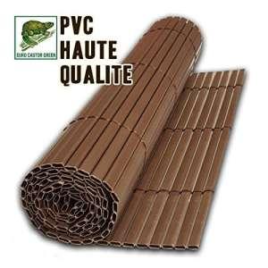 Gazon Permanent Prestige ECG Canisse PVC Double Face Anthracite 300 x 0.5 x 100 cm
