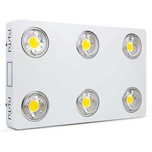 Lampe pour Plante Full Spectrum 600W COB LED Grow Light, Lampe de Croissance Lumière pour Intérieur/Serre/Hydroponique/Grow Box Culture[Classe énergétique A+]