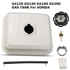 likeitwell Engine Réservoir De Carburant pour Honda GX120 GX140 GX160 GX200 avec Bouchon De Réservoir in-Tank Filter