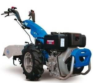 Motoculteur BCS 740Avec Mot. Yanmar ln100Diesel avec démarrage électrique –