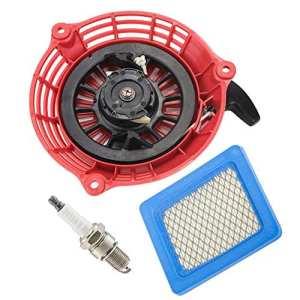 Oxoxo faciles à corde de lanceur avec filtre à air Bougie d'allumage pour Honda GC135GC160GCV135GCV160Générateur Moteur