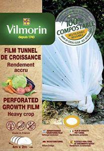 Portal Cool Tunnel Couverture de Croissance Perforã© – Farine de céréales – 2M X 4M 20 microns