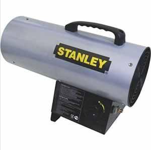 STANLEY ST1ST40GFAE Chauffage Chantier Pro GAZ 12.3Kw, Jaune