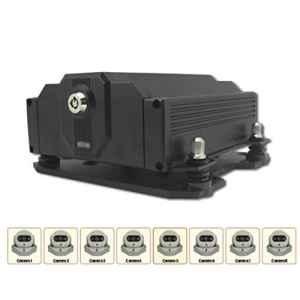 Swiftswan H80 8CH Full D1 HDD et Carte de sécurité numérique DVP Mobile DVR pour Camion/Bus / Taxi