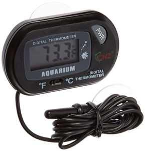TOOGOO(R) Thermometre numerique d'aquarium de ST-3 – Noir