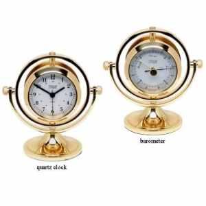 Weems & Plath magnétique Skipjack Horloge et Baromètre