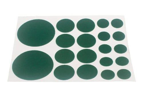 200 x feuilles d'un assortiment de tampons en feutre auto-adhésif 20 par feuille