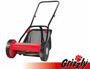 Grizzly HRM 300-3 Tondeuse manuelle à lames hélicoïdales, avec bac de récupération