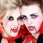 Happy Event Kit de réparation de Dents et de dissolvants pour Halloween Provisorique Denture et Denture Adhesive – Ajustement Parfait