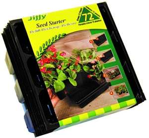 Jiffy Seed Starter Greenhouse Seed Start Kit Refill-72CT SEED STARTER REFILL