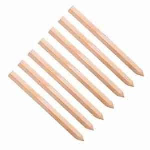 Lot de 20 30,0 cm (300 mm) traité Site Piquets en bois Piquets Piquets de poteaux …