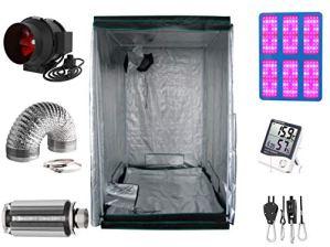Nito GmbH Growbox NDL MH CMH LED 600 W 140 x 140 x 200 cm 3000 (600) W LED
